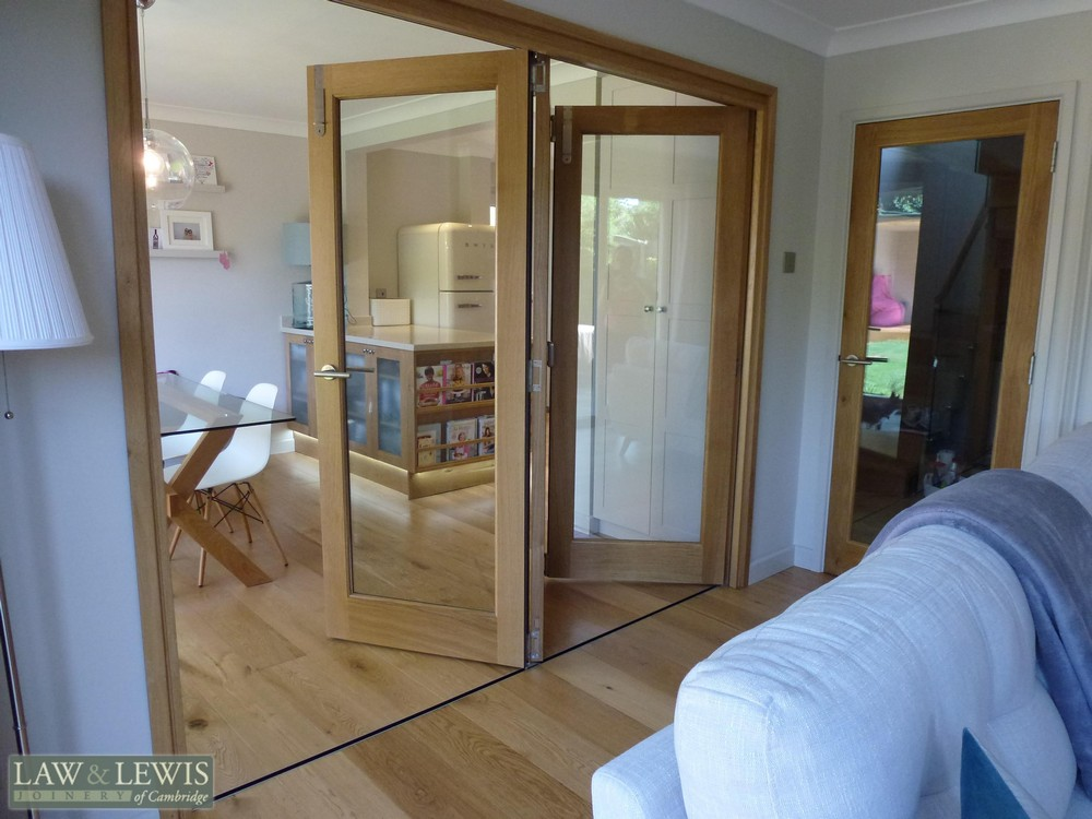 Aluminium doors internal bifold aluminium doors for Custom made internal bifold doors