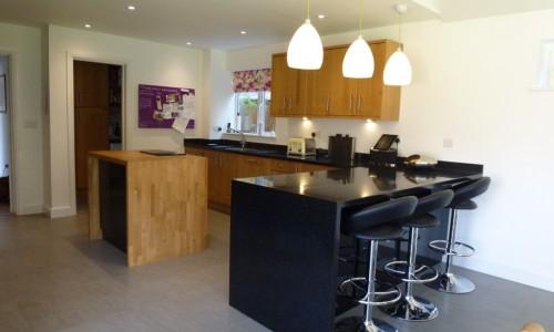 Oak and black gloss kitchen Law & Lewis of Cambridge Ltdthumb_P1070252_1024.jpg