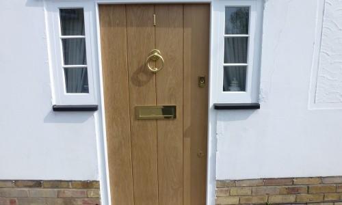 Oak Front door Law & Lewis.JPG